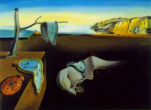 La Persistance de la mémoire Dali
